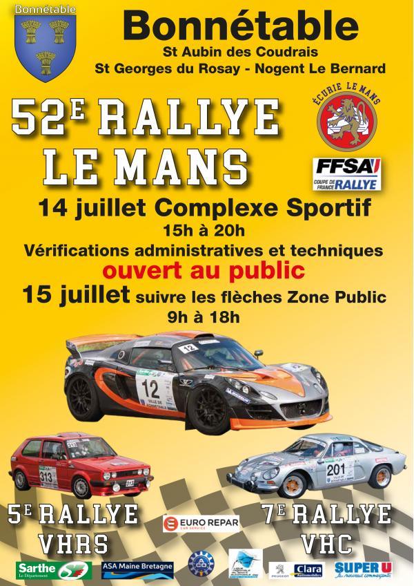 52e Rallye Le Mans