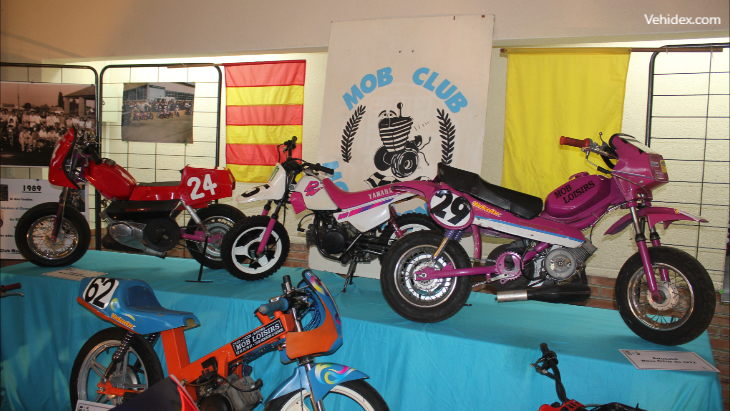 Salon de motos de collection