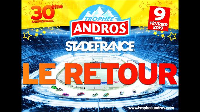 Trophée Andros au Stade de France